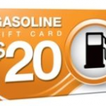 Gas gift cards