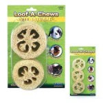 Small animal chew toys