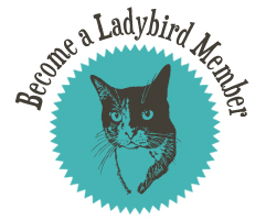 Become a Monthly Giving Ladybird Member!