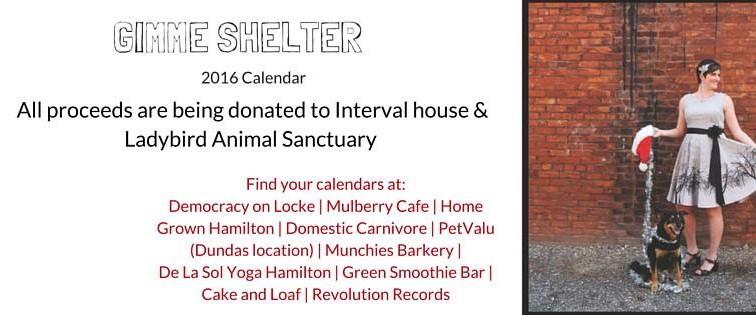 Gimme Shelter Calendar