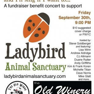 Old Winery Fundraising concert