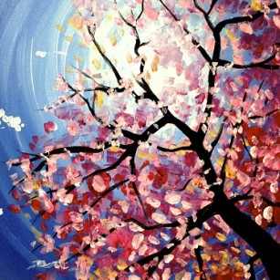 Paint Nite Spring Blooms